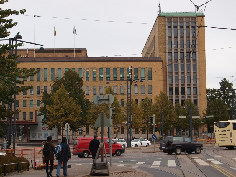 Main post office, Helsinki